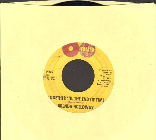 Holloway, Brenda - Together 'Til The End Of Time/Sad Song - VG7/ - 45 rpm Records