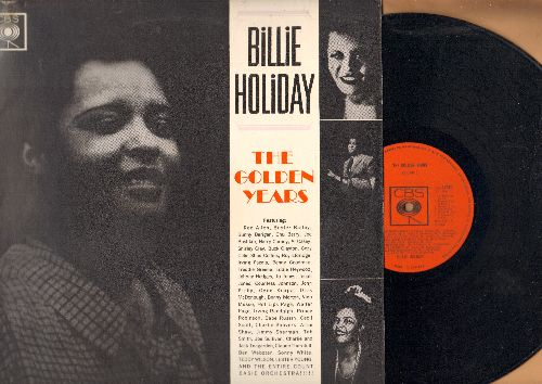 Holiday, Billie - The Golden Years: Your Mother's So In Law, Them There Eyes, Pennies From Heaven, A Fine Romance (vinyl LP record, 1962 British Pressing of vintage Jazz recordings) - NM9/EX8 - LP Records