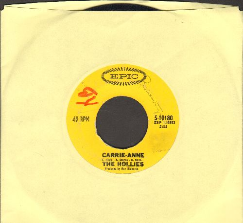 Hollies - He Ain't Heavy, He's My Brother/Cos You Like To Love Me (minor wol) - VG7/ - 45 rpm Records