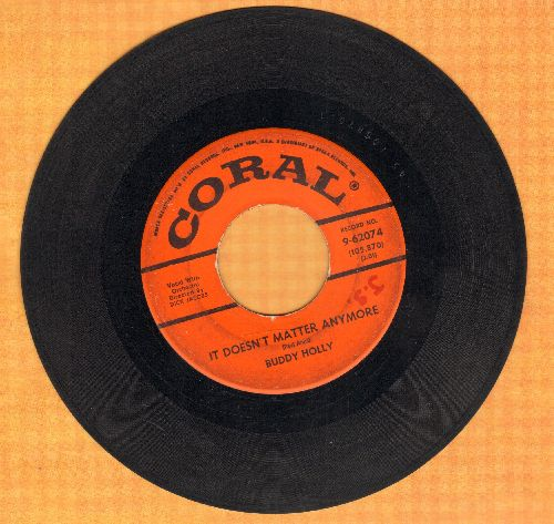 Holly, Buddy - It Doesn't Matter Anymore/Raining In My Heart  - G5/ - 45 rpm Records