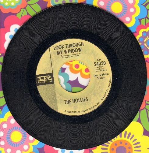 Hollies - Look Through Any Window/I'm Alive (double-hit re-issue) - EX8/ - 45 rpm Records