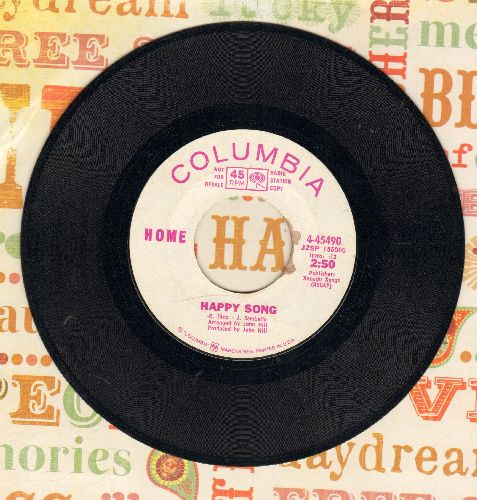 Home - Happy Song/Someone In Your Life (DJ advance pressing) - EX8/ - 45 rpm Records