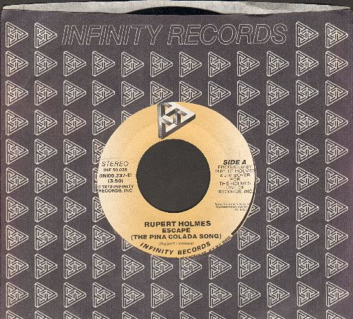 Holmes, Rupert - Escapade (If You Like Pina Colada)/Drop It (with company sleeve) - NM9/ - 45 rpm Records