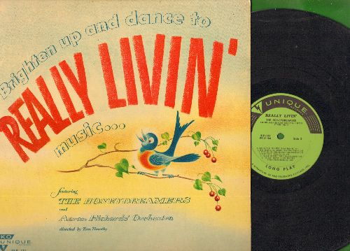 Honeydreamers - Really Livin': On The Sunny Side Of The Street, It's A Good Day, Blue Sky (vinyl MONO LP record) - EX8/EX8 - LP Records