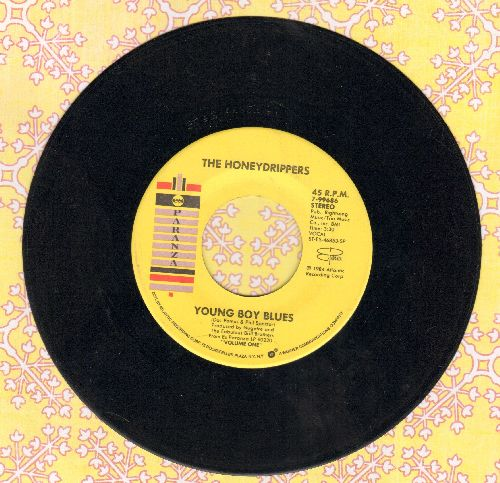 Honey Drippers - Young Boy Blues/Rockin' At Midnight  - VG7/ - 45 rpm Records