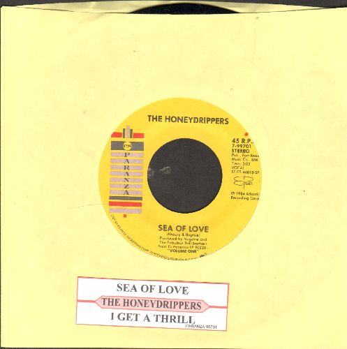 Honeydrippers - Sea Of Love/Rockin' Tonight (with juke box label) - EX8/ - 45 rpm Records