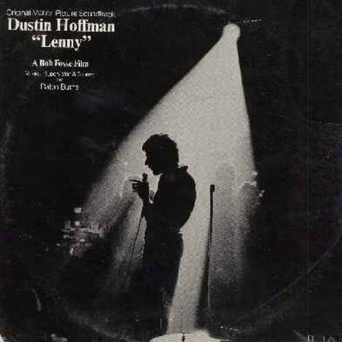Hoffman, Dustin - Lenny - The Rise and Fall of the Great Comedian Lenny Bruce - Original Motion Picture Sound Track (Vinyl LP record, SEALED, never opened!) - SEALED/SEALED - LP Records