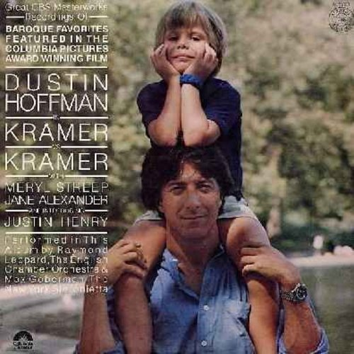 Leppard, Raymond & English Chamber Orchestra & New York Sinfonietta - Kramer vs. Kramer - Baroque Favorites featured in the Oscar-Winning film starring Dustin Hoffman, Meryl Streep, Jane Alexander and Justin Henry (Vinyl STEREO LP record) - NM9/NM9 - LP R