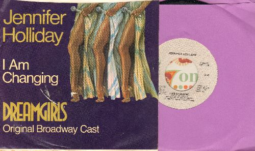 Holliday, Jennifer - I Am Changing/Cadillac Car (from Broadway Production -Dreamgirls-) (with picture sleeve) - NM9/EX8 - 45 rpm Records