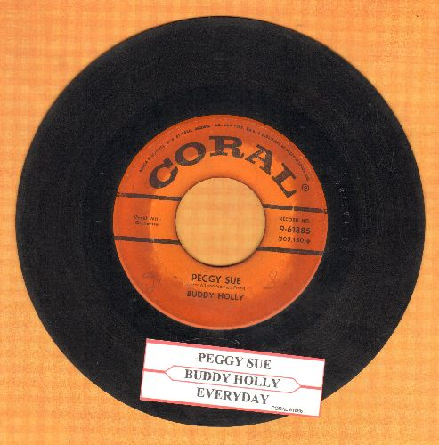Holly, Buddy - Peggy Sue/Everyday (with juke box label) - G5/ - 45 rpm Records