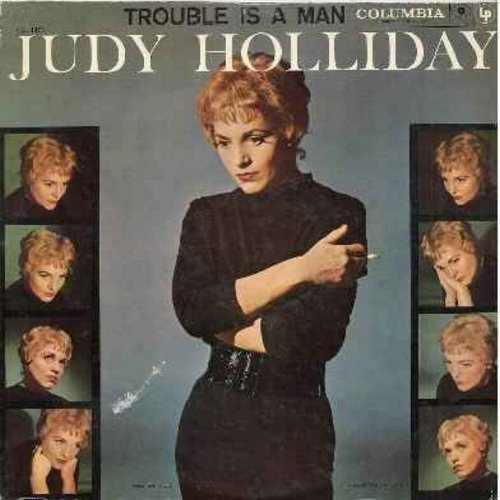 Holiday, Judy - Trouble Is A Man: I Got Lost In His Arms, What'll I Do, Am I Blue?, One Of God's Children, How About Me (Vinyl MONO LP record, red label/6 eyes first issue) - NM9/VG7 - LP Records