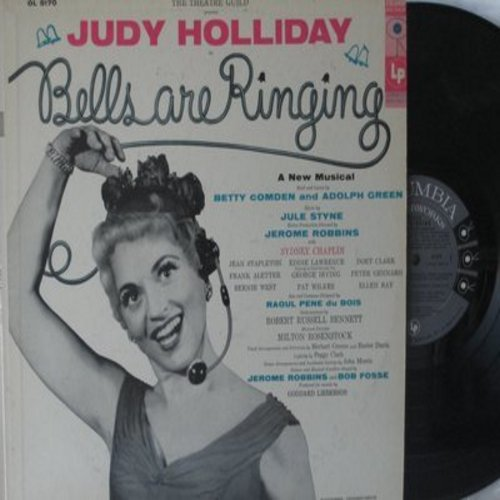 Holliday, Judy - Bells Are Ringing: Theatre Guild Presents A New Musical (Vinyl MONO LP record) - M10/NM9 - LP Records