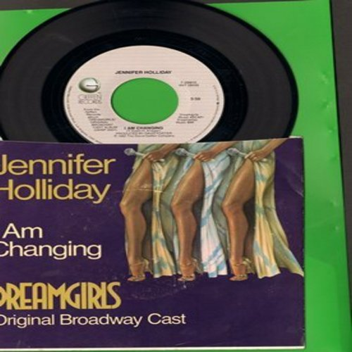 Holliday, Jennifer - I Am Changing/Cadillac Car (from Broadway Production -Dreamgirls-) (with picture sleeve) - M10/EX8 - 45 rpm Records