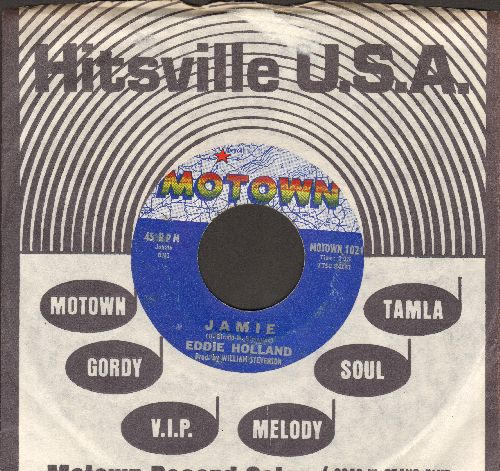 Holland, Eddie - Jamie/Take A Chance On Me (with RARE vintage Motown company sleeve) (wol) - VG7/ - 45 rpm Records
