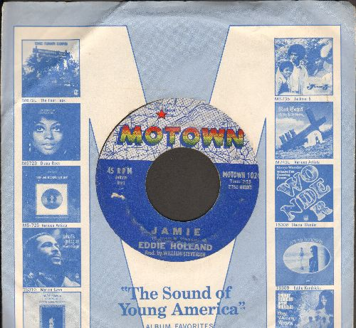 Holland, Eddie - Jamie/Take A Chance On Me (with vintage Motown company sleeve) (wol) - VG6/ - 45 rpm Records