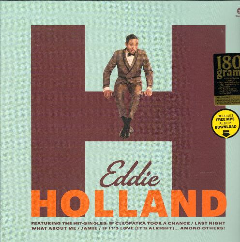 Holland, Eddie - Eddie Holland: Jamie, If Cleopatra Took A Chance, Just A Few More Days, Take A Chance On Me (MONO LP record on 180 gram Virgin Vinyl, EU Pressing re-issue of vintage recordings, SEALED, never opened!) - SEALED/SEALED - LP Records