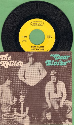Hollies - Dear Eloise/When Your Lights Turned On (with picture sleeve) - VG7/NM9 - 45 rpm Records