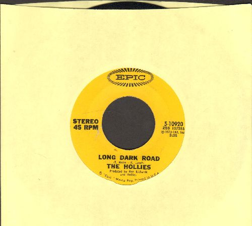 Hollies - Long Dark Road/Indian Girl - NM9/ - 45 rpm Records