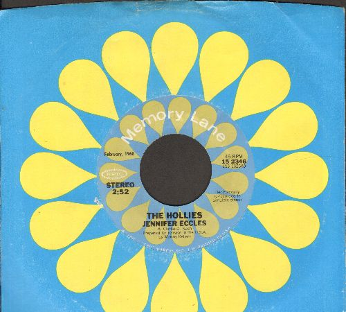 Hollies - Jennifer Eckless/The Air That I Breathe (double-hit re-issue with company sleeve) - M10/ - 45 rpm Records