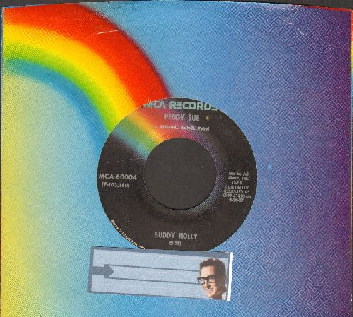 Holly, Buddy - Peggy Sue/Everyday (re-issue with MCA company sleeve) - EX8/ - 45 rpm Records