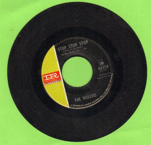 Hollies - Stop Stop Stop/It's You - EX8/ - 45 rpm Records