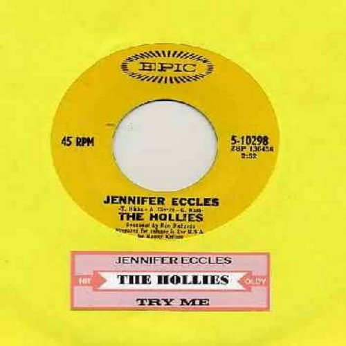 Hollies - Jennifer Eccles/Try It (with juke box label) - VG7/ - 45 rpm Records