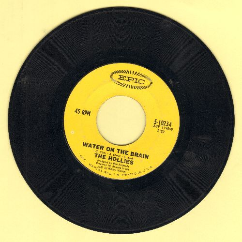 Hollies - Water On The Brain/King Midas In Reverse - NM9/ - 45 rpm Records