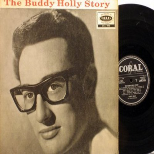 Holly, Buddy - The Buddy Holly Story: Peggy Sue, Maybe Baby, Everyday, That'll Be The Day, Heartbeat, Oh Boy (Vinyl MONO LP record, British Pressing) - VG7/VG7 - LP Records