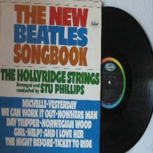 Hollyridge Strings - The New Beatles Songbook: Michelle, Yesterday, We Can Work It Out, Nowhere Man, And I Love Her, Ticket To Ride (Vinyl STEREO LP record) - NM9/VG7 - LP Records