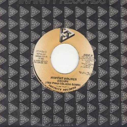Holmes, Rupert - Escapade (If You Like Pina Colada)/Drop It (with juke box label) - EX8/ - 45 rpm Records