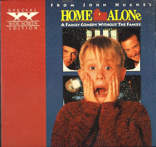 Home Alone - Home Alone - LASERDISC version of the Classic Comedy starring McCaulay Culkin in his break-out role as Kevin. - NM9/EX8 - LaserDiscs
