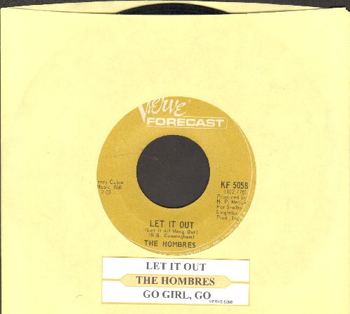 Hombres - Let It Out (Let It All Hang Out)/Go Girl, Go (with juke box label) - EX8/ - 45 rpm Records