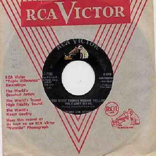 Homer & Jethro - Itsy Bitsy Teenie Weenie Yellow Polkadot Bikini/Please Help Me, I'm Falling (with RCA company sleeve) - VG7/ - 45 rpm Records