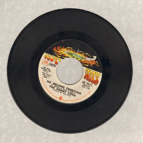 Honey Cone - Want Ads/We Belong Together (with juke box label) - EX8/ - 45 rpm Records
