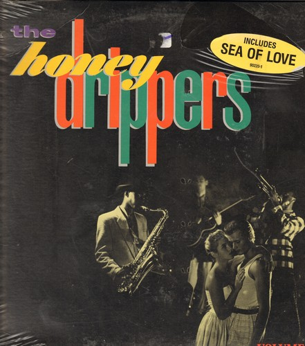 Honey Drippers - The Honey Drippers: Sea Of Love, I get A Thrill, Young Boy Blues (Vinyl LP record, SEALED, never opened!) - SEALED/SEALED - LP Records