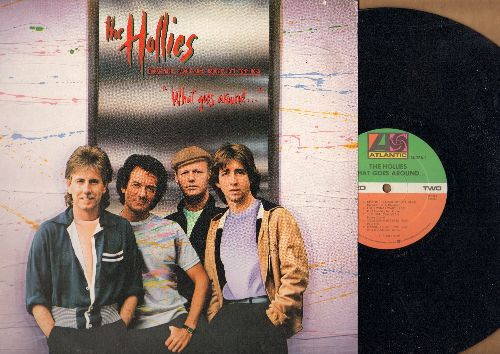 Hollies - What Goes Around…: Stop In Thye Name Of Love, Just One Look, Casualty, If The Lights Go Out (vinyl STEREO LP record) - NM9/EX8 - LP Records