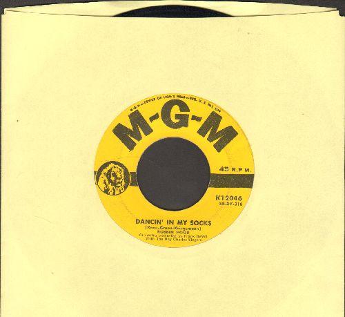 Hood, Robbin - Dancin' In My Socks/Happy Is My Heart - EX8/ - 45 rpm Records