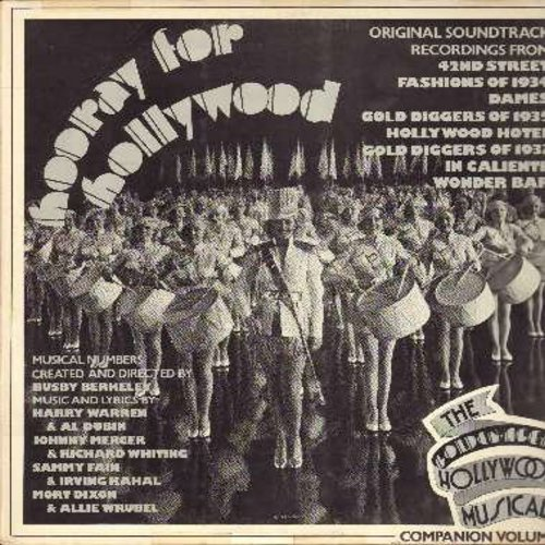 Hooray For Hollywood - Hooray For Hollywood - Original 1930s Sound Track Recordings from films