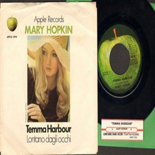 Hopkin, Mary - Temma Harbour/Lontano Dagli Occi (with picture sleeve) - M10/EX8 - 45 rpm Records