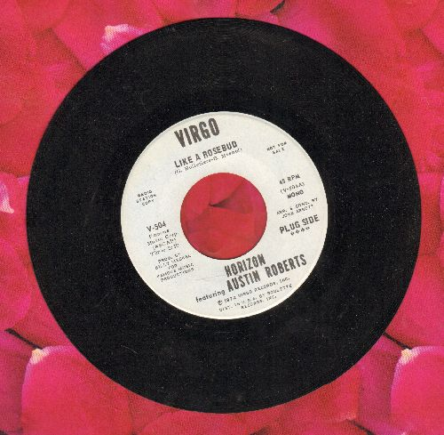 Horizon featuring Austin Roberts - Like A Rosebud/What We Got Between Us (DJ advance pressing) - NM9/ - 45 rpm Records