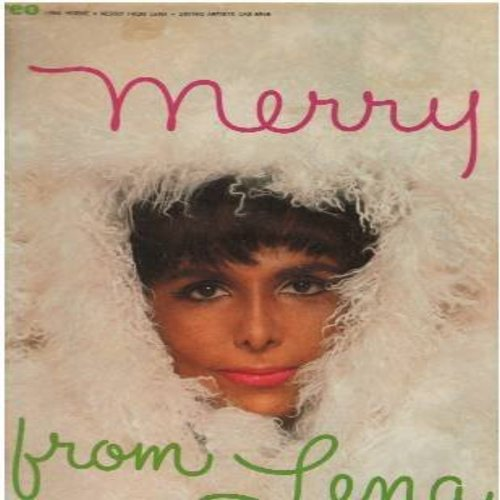 Horne, Lena - Merry: Jingle All The Way, The Christmas Song, Winter Wonderland, White Christmas, Rudolph The Red-Nosed Reindeer, What Are You Doing New Year's Eve (Vinyl STEREO LP record) - NM9/NM9 - LP Records