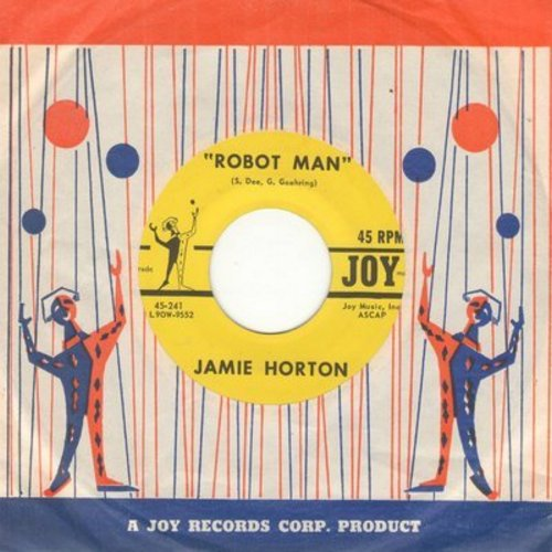 Horton, Jamie - Robot Man/We're Through - We're Finished (with vintage Joy company sleeve) - NM9/ - 45 rpm Records