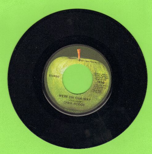Hodge, Chris - We're On Our Way/Supersoul (with Apple company sleeve) - EX8/ - 45 rpm Records
