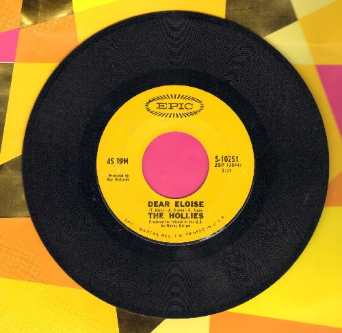 Hollies - Dear Eloise/When Your Lights Turned On - EX8/ - 45 rpm Records