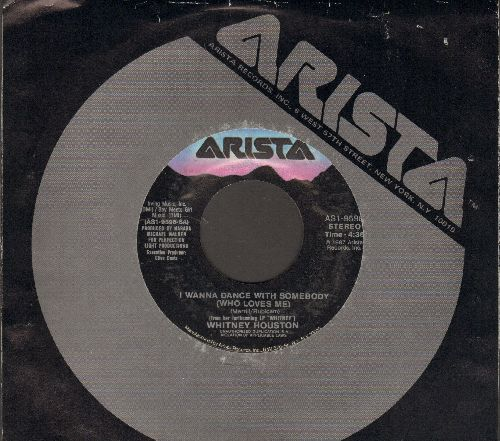 Houston, Whitney - I Wanna Dance With Somebody (Who Loves Me)/Moment Of Truth (with Arista company sleeve) - EX8/ - 45 rpm Records