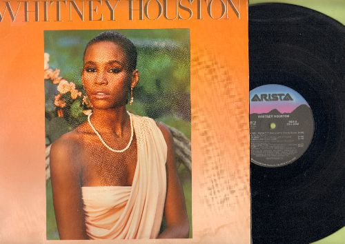 Houston, Whitney - Whitney Houston: How Will I Know, Saving All My Love For You, Greatest Love Of All (vinyl STEREO LP record) - NM9/EX8 - LP Records