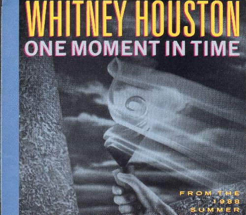 Houston, Whitney - One Moment In Time/Love Is A Contact Sport (with picture sleeve) - EX8/EX8 - 45 rpm Records