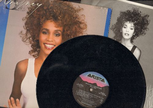 Houston, Whitney - Whitney: I Wanna Dance With Somebody, So Emotional, Where You Are, You're Still My Man (vinyl LP record) - EX8/EX8 - LP Records