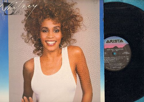 Houston, Whitney - Whitney: I Wanna Dance With Somebody, So Emotional, Didn't We Almost Have It All (vinyl LP record, song lyrics on inside sleeve!) - EX8/EX8 - LP Records