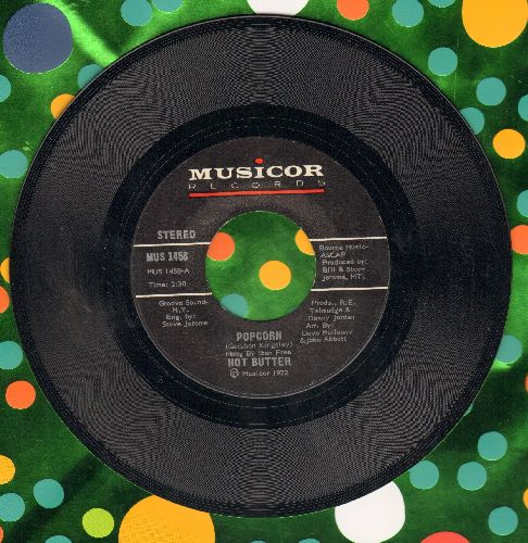 Hot Butter - Popcorn/At The Movies (MINT condition) - M10/ - 45 rpm Records